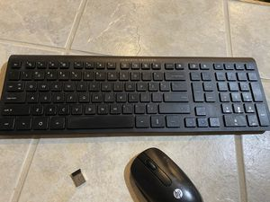 HP wireless keyboard and mouse for Sale in Colorado Springs, CO