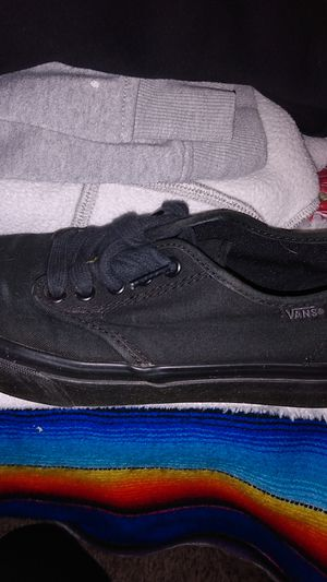 Vans lowtop all blackout for Sale in Hamilton, OH