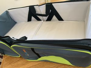 Travel bassinet, changing table, diaper bag for Sale in Arvada, CO