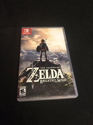 Zelda botw Nintendo switch for Sale in Bellflower, CA
