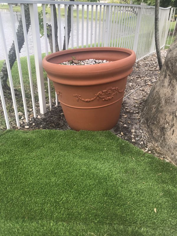 Flower pots great landscaping
