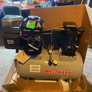 Westward/ 5.5 Briggs And Stratton Air Compressor for Sale in Kearny, NJ