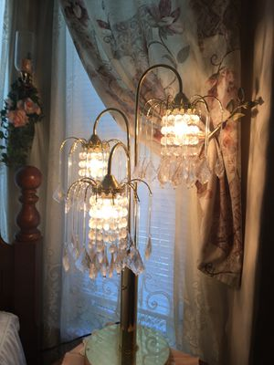 2 Three-way lamps for Sale in Woonsocket, RI
