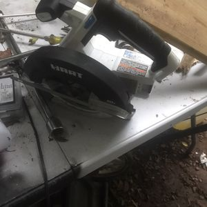 Like new hart skill saw. 20v just the skill saw no battery or charger. I have to show you it works.$35 for Sale in Burlington, NC