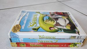Shrek, Shrek 2 and Shrek the Third DVDs for Sale in Pembroke Pines, FL