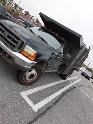 F550 heavy duty 7.3 Diesel 12 Dump for Sale in Baltimore, MD