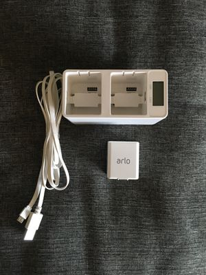 Arlo Pro / Pro 2 Battery w/Dual Charging Base for Sale in Los Angeles, CA