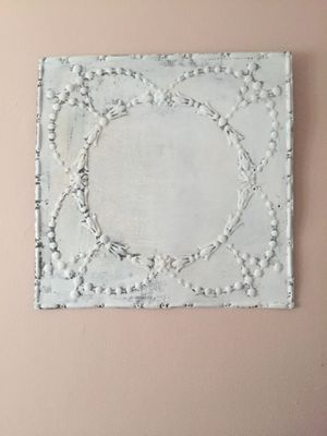 Vintage tin tile wall decor for Sale in NY, US