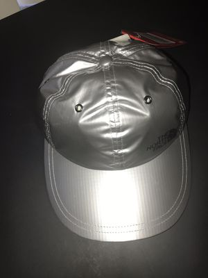 Supreme North Face Cap Hat Silver for Sale in Alexandria, VA