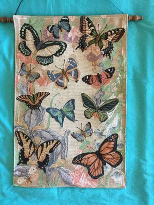 Beautiful Wall Art / Butterfly tapestry 🌸💖 for Sale in Alexandria, VA