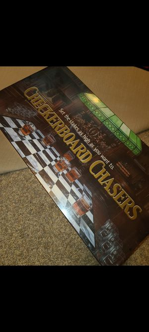 Checkerboard chasers shots drinking game for Sale in Rancho Cucamonga, CA