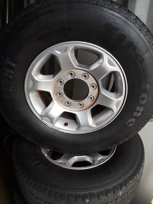 Ford F250 wheels with 265x70x17 Firestone tires for Sale in Pembroke Pines, FL