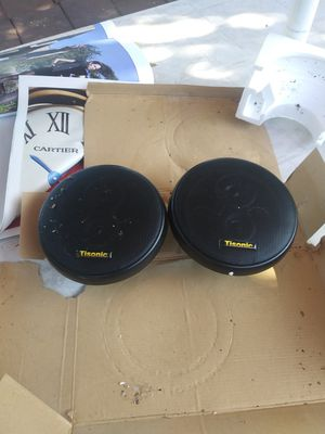 Car audio speakers for Sale in Stockton, CA