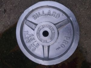 Weight Plate 25lbs for Sale in San Antonio, TX