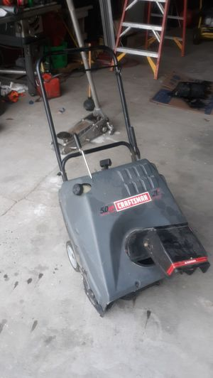 "CRAFTSMAN 21"" SNOWBLOWER for Sale in US"