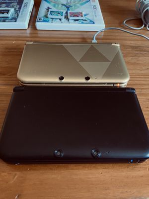 Nintendo 3DS XL (Limited Edition Legend of Zelda Triforce and Black) for Sale in Los Angeles, CA