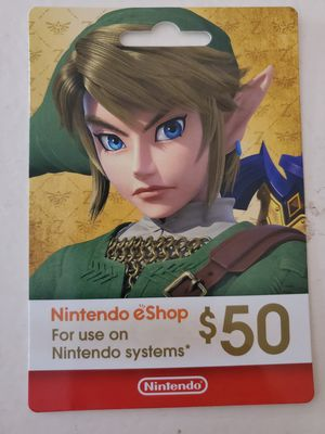 $150 (3 $50) Nintendo eShop Cards for Sale in Cedar Park, TX