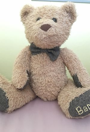 Barnsie stuffed teddy bear with bow tie for Sale in Phoenix, AZ