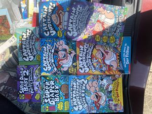 Captain Underpants Chapter Books (8 books) for Sale in Houston, TX