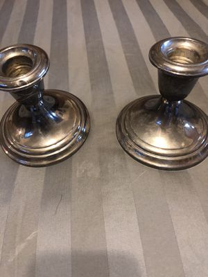 Vintage Gorham Sterling Silver candle holders for Sale in West Palm Beach, FL