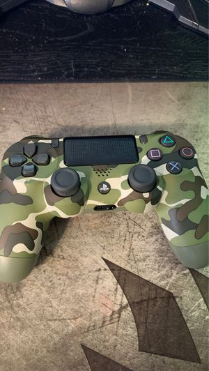 Playstation 4 controller(green camouflage) for Sale in Warwick, RI