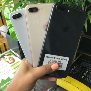 iPhone 8 Plus (64GB )| Unlocked 🔓| 30 Days warranty✅ | All colors Available ❗️| Like New for Sale in Tampa, FL