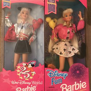 Set Of Vintage Disney Barbies- Disney Fun And Exclusive- NEW for Sale in Charleston, SC
