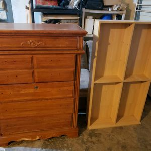 Misc. Furnitur For Sell. Dresser 25. Hutch 50. Couches 10. Ea. Solid Wood for Sale in Vancouver, WA