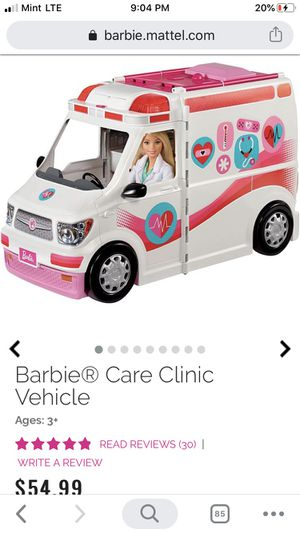 Brand New! Barbie Care Clinic for Sale in Mesa, AZ