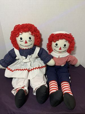 "Raggedy and Andy 19"" tall for Sale in Miami, FL"