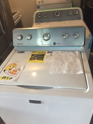 Maytag Washer and Dryer set new warranty for Sale in Oakland Park, FL