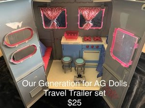 American Girl Doll Travel Trailer for Sale in Surprise, AZ