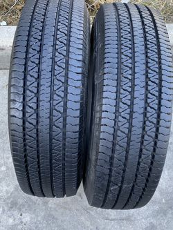 2 tires 225/75/16 uniroyal for Sale in Bakersfield,  CA