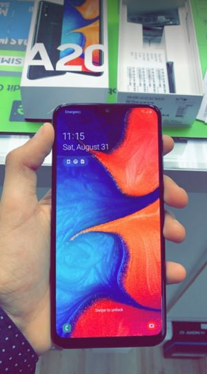 Unlocked Samsung Galaxy A20, 32gb, Brand New in Box, One Year Warranty! for Sale in Fort Worth, TX
