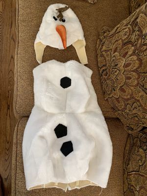 OLAF Disney kids costume size 4-6 years for Sale in Los Angeles, CA