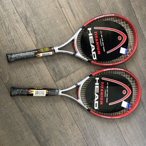 HEAD Titanium XtraLong Oversized Tennis Rackets NEW for Sale in Corona, CA