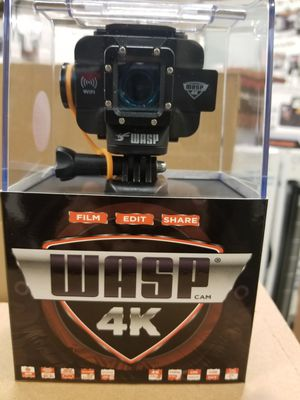 "ACTION CAMERA ""NEW ""4K WASP for Sale in Schaumburg, IL"