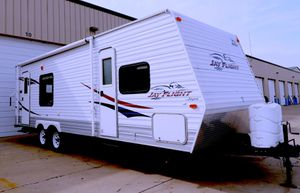 🌹$1.2OO I sell URGENT my trailer 2009 Jayco Jay Series Clean title.🍂 for Sale in Dallas, TX