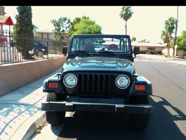 Jeep wrangler Tj 4x4