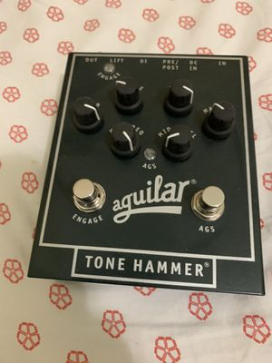 AGUILAR TONE HAMMER FOR BASS GUITAR $160 for Sale in Homestead, FL