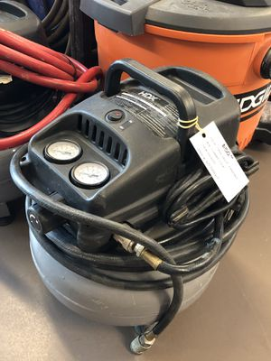 HDX TAW- 0421P Pancake Air Compressor for Sale in Woodstock, GA