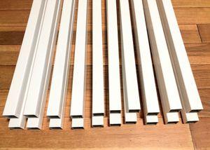 "20 Composite Railing White Deck Baluster 33 1/2"" x 1 1/4"" for Sale in Riverdale, GA"
