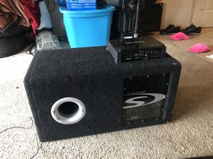 Sub and amp for Sale in Burien, WA