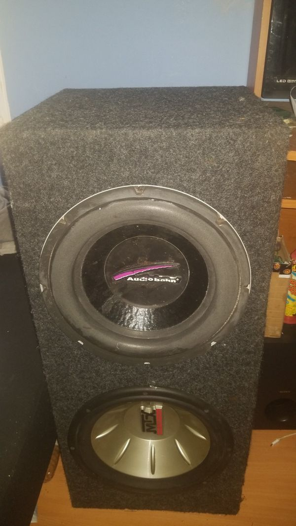 12in subwoofer double box