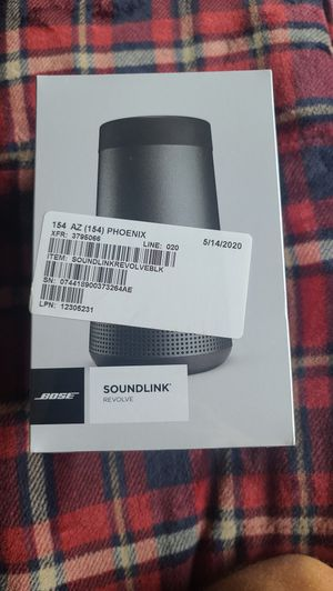 BOSE Sound Link Revolve Sealed Brand New in Box for Sale in Phoenix, AZ
