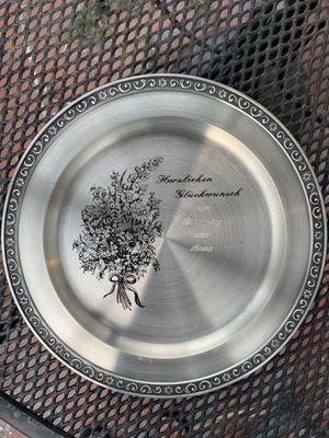 Vintage Pewter Plates for Sale in Fort Pierce, FL