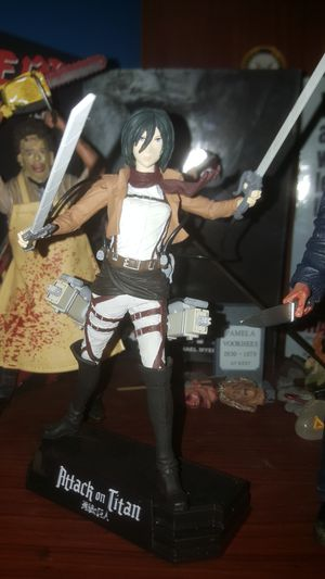 MCFARLANE TOYS AOT-Mikasa Ackerman displayable figure for Sale in Loomis, CA