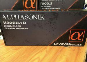 Alphasonik V3000.1D MONOBLOCK Amplifier for Sale in Lawndale, CA
