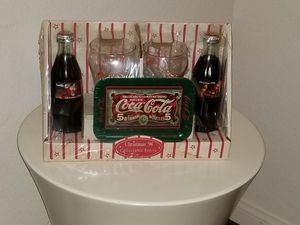 Vintage Coca Cola Christmas 1996 collectible series set (Sealed) for Sale in Las Vegas, NV