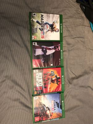 Xbox one games for Sale in Whittier, CA